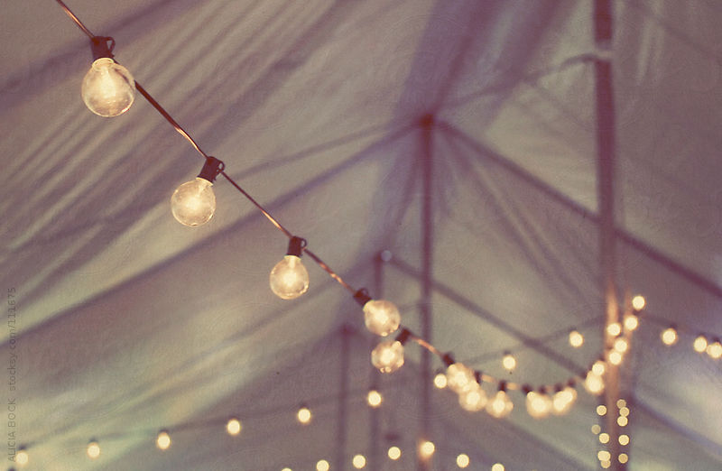 Strings of Lights by Alicia Bock