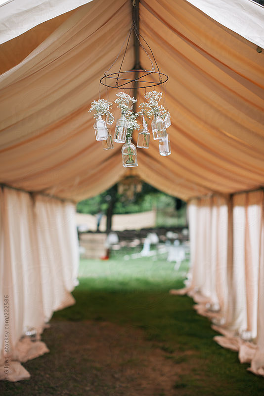 Hanging Wedding Decoration by Kevin Gilgan