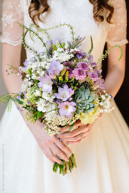 beautiful bridal bouquet by Brian Powell