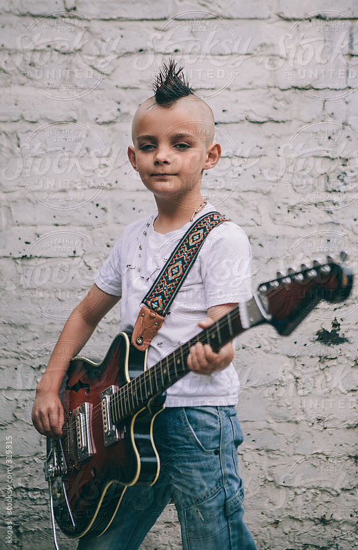 Portrait of a young Punk by kkgas
