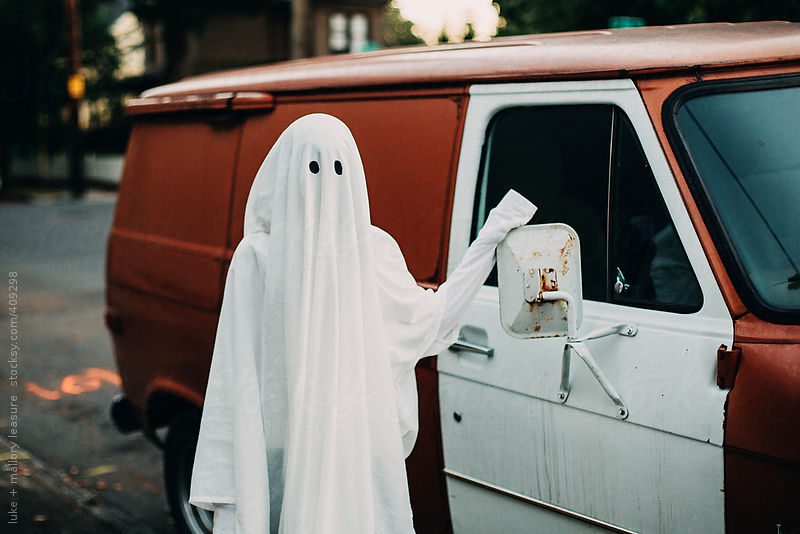 Ghosts like cars by Luke + Mallory Leasure