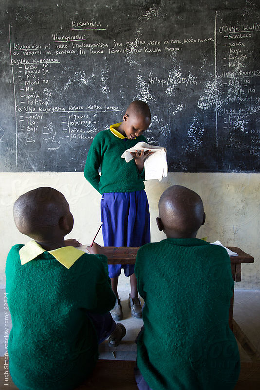 Kenyan school children. Kenya, Africa. by Hugh Sitton