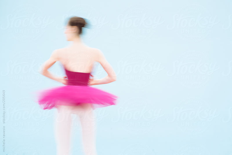 Ballet dancer by Michela Ravasio